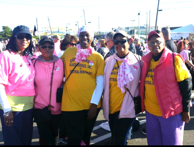 CBNCNJ with family and friends participated in the American Breast Cancer 5 mile run