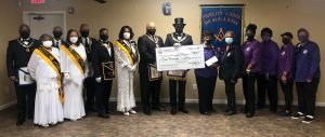 Photo of CBNCNJ and Members of Fidelity Lodge #42
