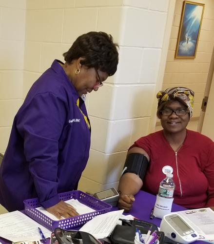 CBNCNJ -June 2019 - Checking blood pressure